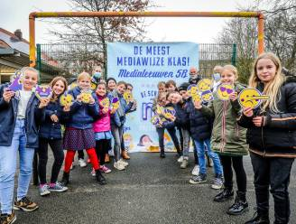 Vijfde leerjaar van basisschool De Leeuw is meest mediawijze klas van Vlaanderen