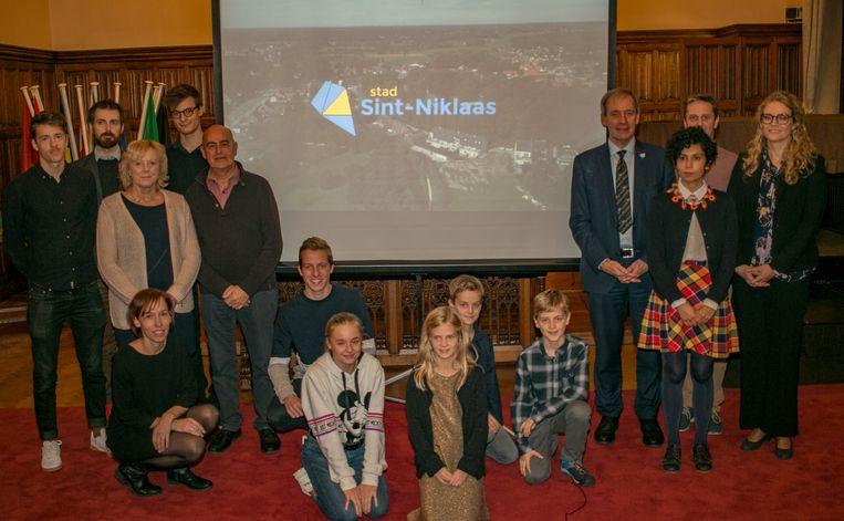 Deze groep inwoners speelt mee in de nieuwe stadspromotiefilm van Sint-Niklaas.