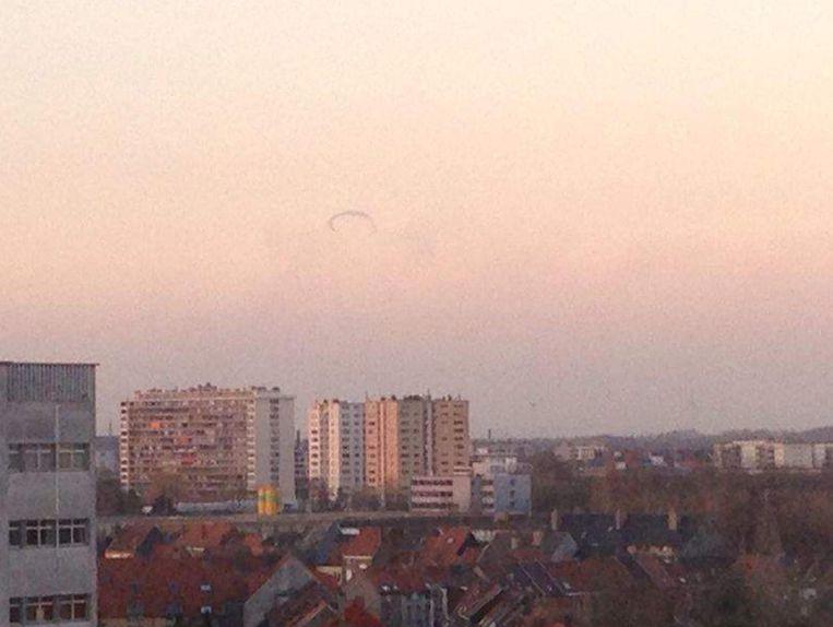 Deze ufo-melding in Gent wordt afgedaan als een rookkring.