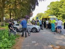 Aanrijding tussen auto en driewieler in Tilburg