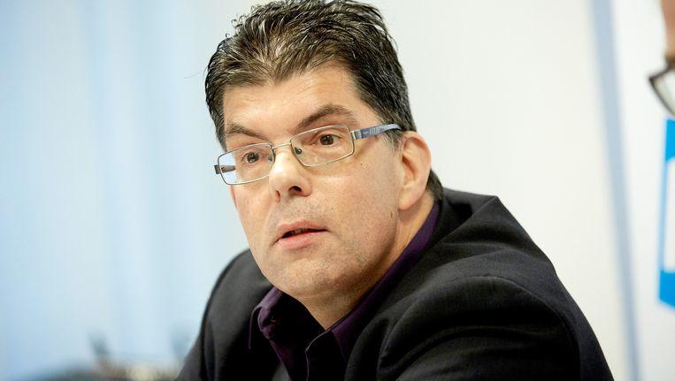 Arno van Deuzen, advocaat namens FNV in de zaak tegen Meavita. Beeld anp