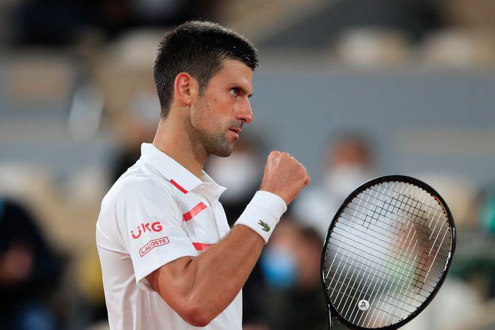Novak Djokovic s'est facilement qualifié pour le second tour.