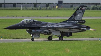 F-16 van de Belgische luchtmacht heeft gemiddeld 33,2 defecten