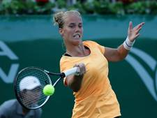 Hogenkamp onderuit tegen Kanepi in tennisfinale in Nantes