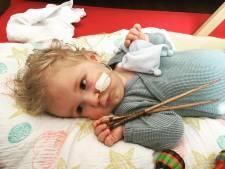 Nu is het écht gelukt: met ruim 2,1 miljoen euro kan baby Jayme (1) in Hongarije worden behandeld