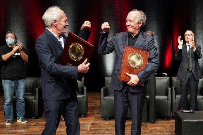 Luc et Jean-Pierre Dardenne célèbrent leur prix