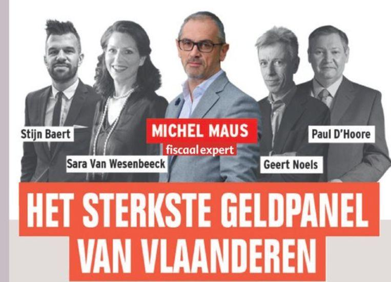 Het sterkste geldpanel van Vlaanderen van Het Laatste Nieuws, met budgetexpert Sara Van Wesenbeeck - www.barkingdogs.be