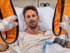 Grosjean mag ziekenhuis na zware crash alweer uit
