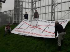Protest tegen windmolens op Beuningse 'zichtlocatie'