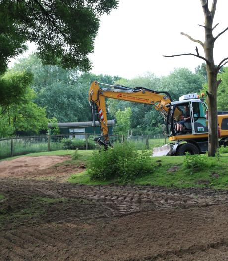 Vervolg droogleggen kinderboerderij de Oosterhoeve in Den Bosch