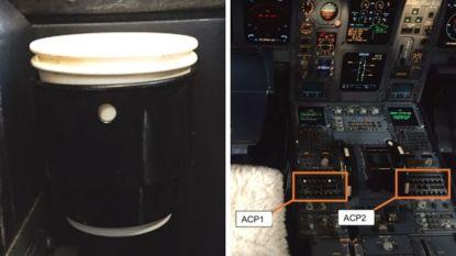 Piloot maakt onvoorziene landing nadat hij koffie morst in cockpit