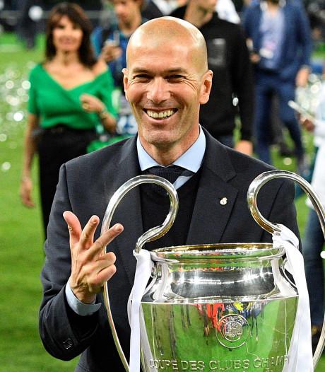 Zidane terug als trainer van Real Madrid, Solari ontslagen