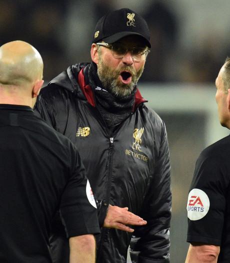 FA geeft Klopp boete van 52.000 euro