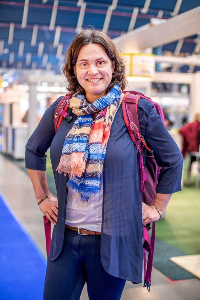Mireille Steegmans Beeld Raymond Rutting