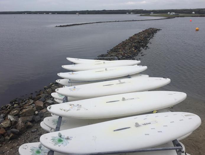 Surfplanken.