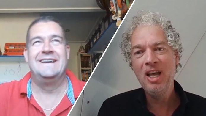Dennis Arentsen en Vincent de Vries