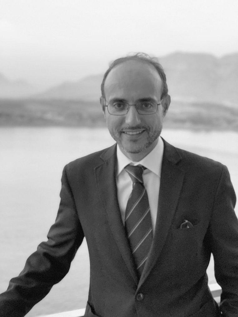 Farid Boussaid is docent politicologie aan de Universiteit van Amsterdam. Beeld -