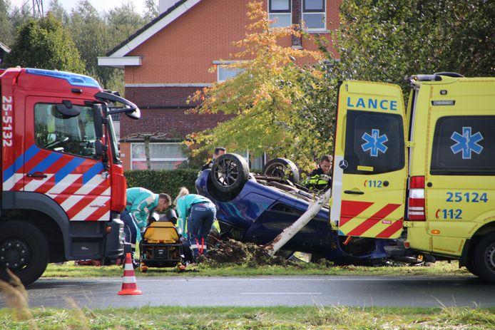 Eenzijdig ongeval in Lelystad