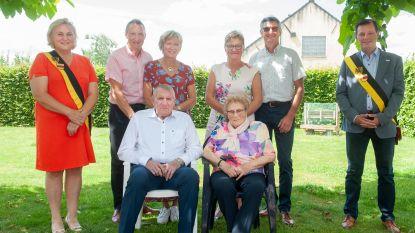 Frans en Erna vieren 60 jaar huwelijksgeluk