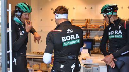 FOTO. Onder meer Van Avermaet, Gilbert en Valverde op verkenning voor Ronde, Sagan & co maken ook tijd voor rijsttaartje