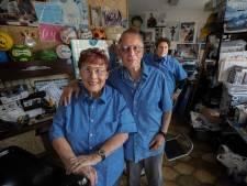 Tussen de rommel leven de Russo's heerlijk in het verleden in de Eindhovense Kruidenbuurt