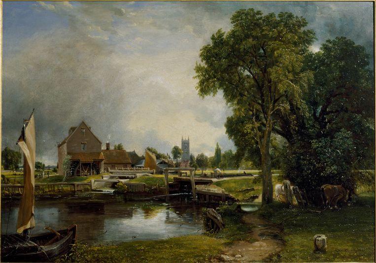 Dedham Lock & Mill.    Beeld ©Victoria & Albert Museum, London
