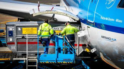 Acties van bagageafhandelaars op Schiphol opgeschort