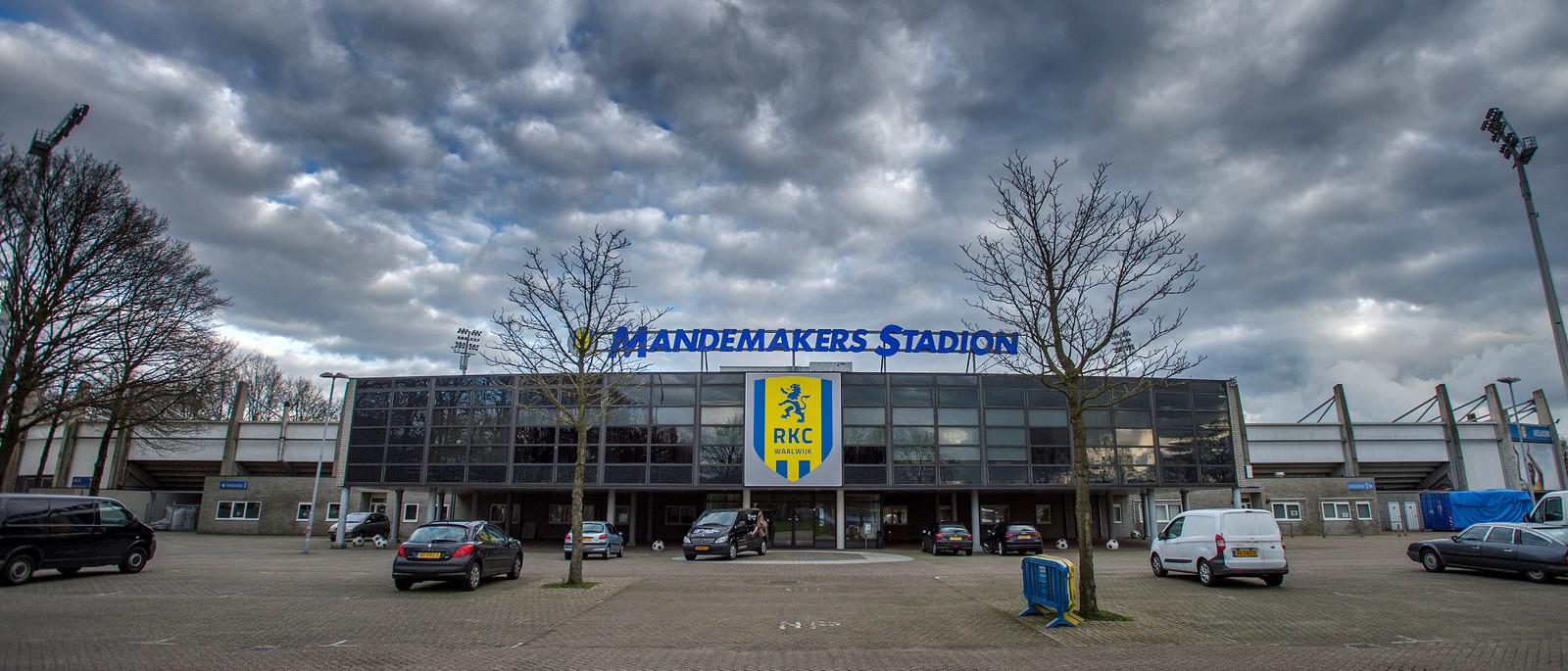 Het Mandemakersstadion. Jeroen van Eijndhoven/Beeld Werkt IPTCBron  Beeld Werkt;Beeld Werkt  Waalwijk Akkerlaan RKC Waalwijk Mandemakers Stadion;Waalwijk;Nederland