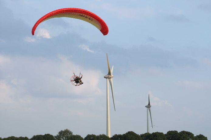 Bij Aalten is windpark Hagenwind sinds 2008 in bedrijf.