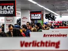 Winkeliers zetten meer dan half miljard euro om met Black Friday