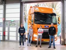 DAF-truck voor studenten Curio: sleutelen aan de nieuwste techniek