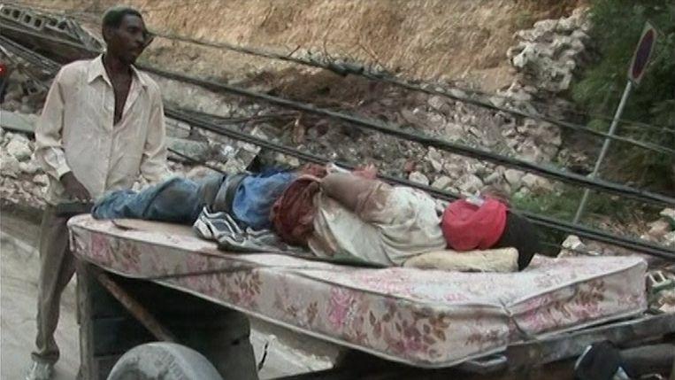 Zo'n 230.000 lieten het leven bij de aardbeving in Haïti.