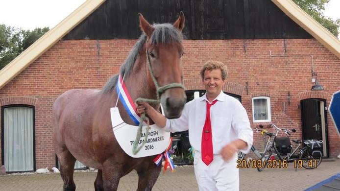 Marcel Asbreuk uit Diepenheim met zijn merrie Zadora