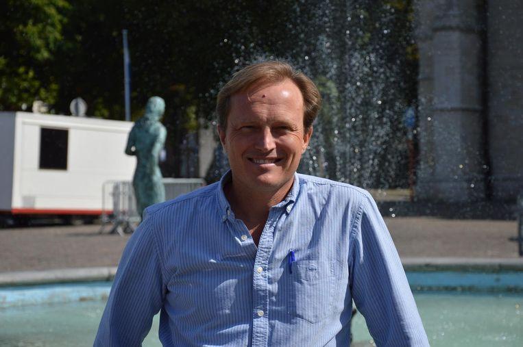 Organisatiecoach Yves Decaestecker moet de stadsdiensten op punt stellen.