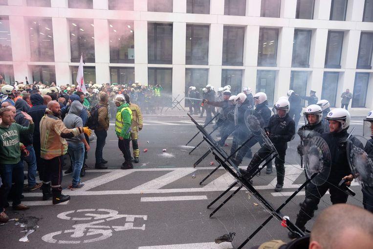 De politie is voorbereid op de komst van de 'Gele hesjes' die zaterdag naar Brussel komen
