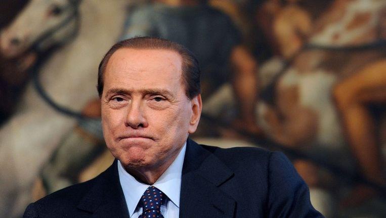 Silvico Berlusconi. Beeld epa