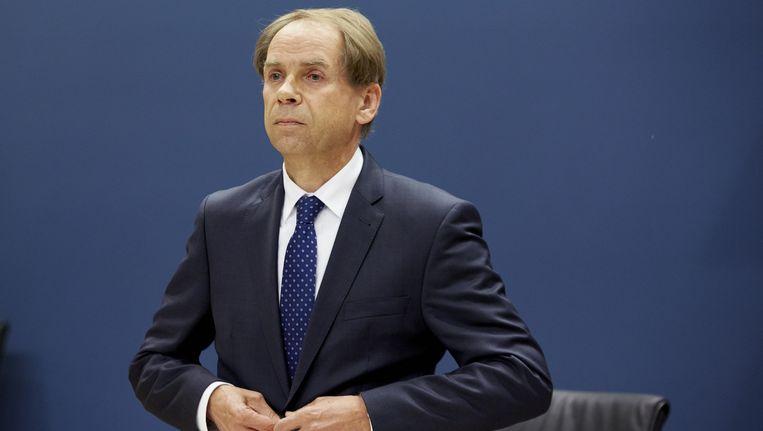 Engelhardt Robbe, financieel directeur van de NS. Beeld anp