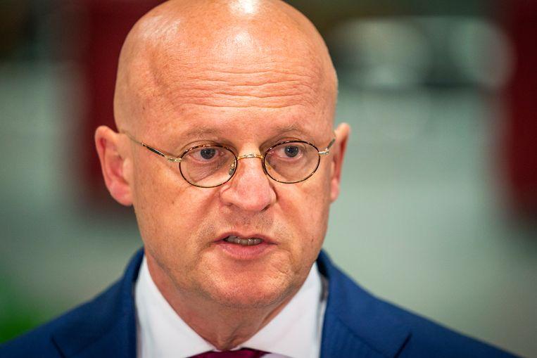 Minister Ferd Grapperhaus. Beeld Hollandse Hoogte /  ANP