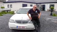 """Guido 'Panthera' Vanluchene met nummerplaat SEX-069 in VTM-programma 'Vanity Plates': """"Bij een limo hoort een speciaal kenteken"""""""