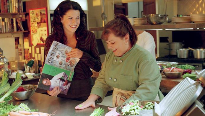 Lauren Graham en Melissa McCarthy.