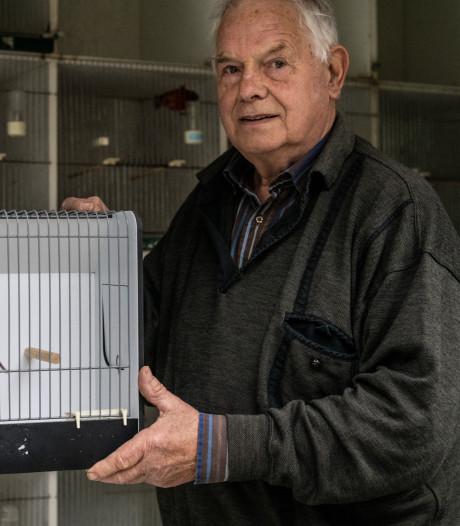 Henk uit Groesbeek en zijn kanarie zijn Europees kampioen