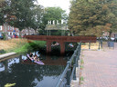 Een impressie van de te bouwen brug in Zutphen.