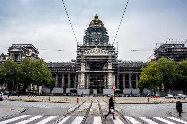 Het Justitiepaleis in Brussel.