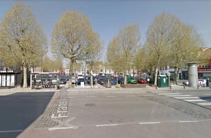 L'intervention polémique a eu lieu samedi soir sur la Beverenplein à Gand.
