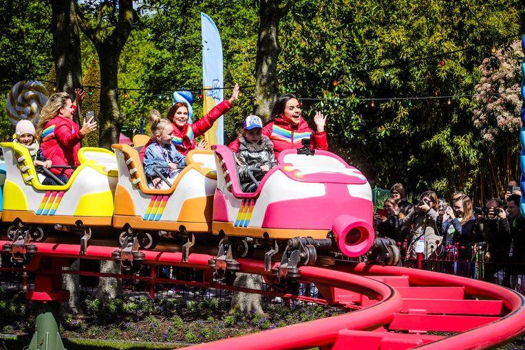 K3 test haar eigen rollercoaster.