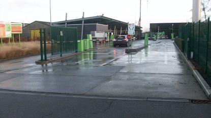 Recyclagepark Nijverheidslaan na één maand opnieuw open