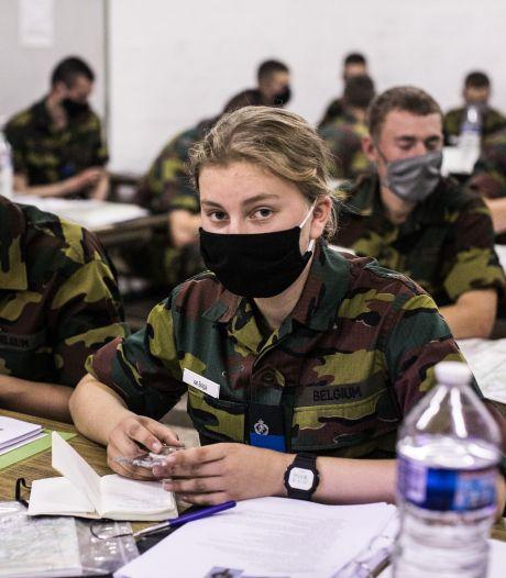 """À l'École royale militaire, la princesse Élisabeth est """"une élève comme les autres"""""""