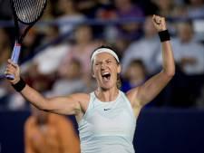 Azarenka verslaat Kerber en staat voor het eerst in drie jaar in finale WTA-toernooi