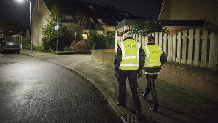IN Nederland staan 700 buurtwachten geregistreerd. Beeld HH