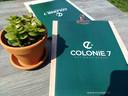 De menukaart van brasserie Colonie 7